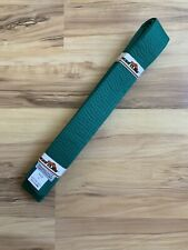 Tiger Claw 100% Cotton Martial Arts Uniform Ranking Belt – Green Size 4