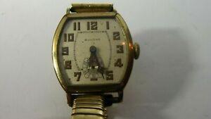 Vintage Men's BULOVA  14kt Rolled Gold Plate Watch Hand Wound