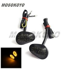 Smoke LED Flush Mount Running & Turn Signal Light For Yamaha YZF R1 R6 R6S