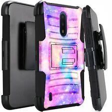 Holster Case For Nokia C2 Tava /C2 Tennen Hybrid Phone Cover - UNICORN UNIVERSE
