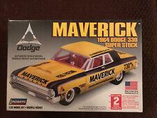 Lindberg Maverick 1964 Dodge 330 Super Stock Brand New Model