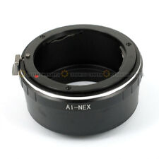Nikon AI Lens to Sony NEX E Mount NEX-7K 5R 6 5T A5200 A7 A7R VG40E Adapter Ring
