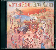 Weather Report - Black Market CD Japan 35DP 130 black/silver label