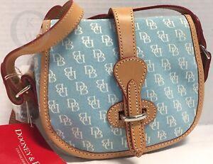 NWT* Dooney & Bourke~Jacquard~Soft Blue Marble Bag*18019C S004