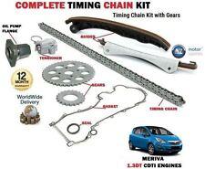 Per Opel Meriva 1.3 CDTI 2006-- > Nuovo Kit Catena Distribuzione Set + Gears
