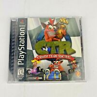 CTR Crash Team Racing Sony PlayStation 1999 PS1 BLACK LABEL Complete