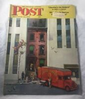 The Saturday Evening Post Sept 1944 Liberation  is like Childbirth World Movers