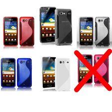 Cover Tpu per Samsung Galaxy S Advance i9070 custodia Flessibile Morbida-SCEGLI