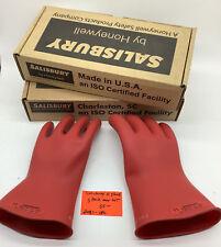 Salisbury Size 11 Lineman Gloves 3 Pair One Lot2081 Upo