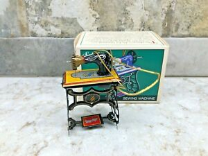 Schylling Tin Toy Sewing Machine Ornament