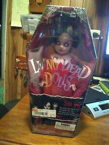 Living Dead Dolls Sin Series 1  Mezco 99901 Sealed