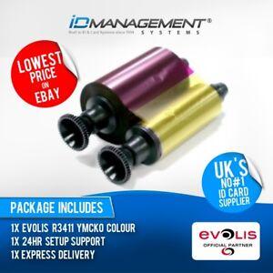 Evolis R3411 Colour Ribbon for Tattoo2 Printer • Low Prices