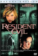 Resident Evil (DVD, 2004, Deluxe Edition)