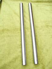 2 Hard Chrome Fork stanchions -bsa B25SS B50 A65 A75+T120 T140 t150-conical