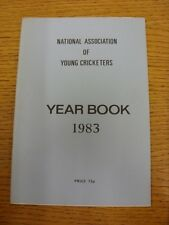 1983 Cricket: National Association Of Young Cricketers - Yearbook. Thanks for ta