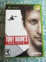 TONY HAWK PROJECT 8 XBOX COMPLETE IN BOX W/ MANUAL CIB VERY GOOD
