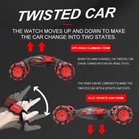 Gesture Sensing Remote Control Car Toy Watch Remote W124 Stunt Car USB charger