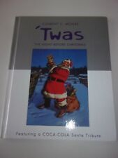 Twas The Night Before Christmas Book by Clement C. Moore with Coca Cola Santa