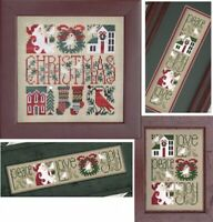10% Off The Drawn Thread Counted X-stitch Chart - Little Bits of Christmas