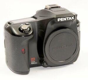 Pentax K100 D super Gehäuse schwarz