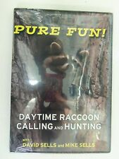DVD-Sells - Pure Fun: Daytime Raccoon Calling and Hunting  Traps Trapping  Duke
