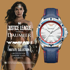 Automatic Analog Justice League Wonder Woman Mutate Watch for Woman