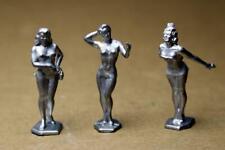 3 Marx Dancers Toy Soldier Lead unpainted