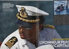 Coupure de presse Clipping 2012 Costa Concordia l honneur du capitaine (8 pages)