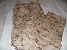 USMC Desert Marpat Camouflage Pants Size Medium Regular