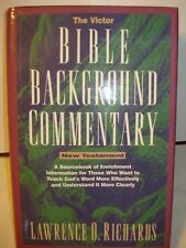 1994 The Victor Bible Background Commentary New Testament By Lawrence Richards