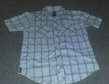 Billabong Collard White Dress Shirt Preowned Good Condition M
