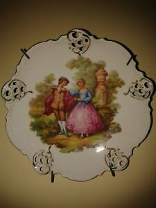 German plate, porcelain factory Rosenthal - Moliere 1901 - 1933.