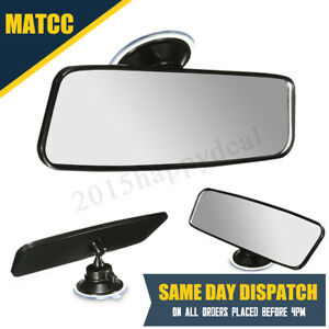 20CM Back Rear View Suction On Driving Instructor Interior Mirror Wide Angle