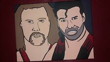 Wwe kevin nash scott hall canvas nwo diesel razor 30x40cm