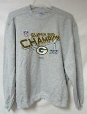 Green Bay Packers Mens Size Large Super Bowl XLV Champions Sweatshirt A1 1636