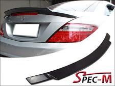 V Style Carbon Fiber Trunk Spoiler Wing For 2012+ R172 SLK250 SLK350 SLK55 AMG