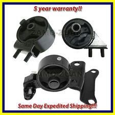 Fits: 90-95 Mazda 323 MX-3 1.6/ 1.8L Engine Motor & Trans. Mount Set 3PCS