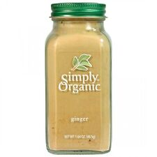 Simply Organic Ginger Root Ground Certified Organic, 1.64 Oz (Pack of 6)
