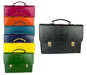 Business Bag Backpack Medium Briefcase Genuine Leather Made in Italy Basic