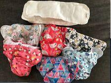 New ListingNewborn Cloth diapers girl 6pc