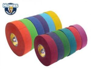 Schlägertape Howies Profi Cloth Hockey Tape 25mm f. Eishockey farbig