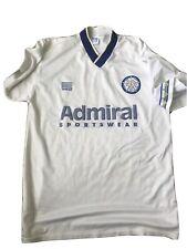 Leeds United Short Sleeved Football Shirt Admiral Retro 42/44�