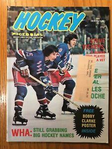 Hockey Pictorial magazine December 1973 (Steve Vickers)