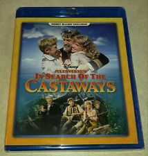 New In Search of the Castaways Blu-ray Disney Movie Club Exclusive