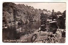 On The Derwent - Matlock Bath - Photo Postcard 1916