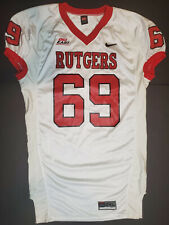 Team Nike NCAA Rutgers Scarlet Knights game used #69 Jersey size XXL