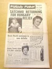MELODY MAKER 1956 NOVEMBER 24 LOUIS ARMSTRONG TED HEATH JAZZ BIG BAND SWING