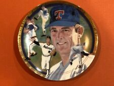 NOLAN RYAN PLATE THE STRIKE OUT EXPRESS -Hamilton Collection/Sports Impressions