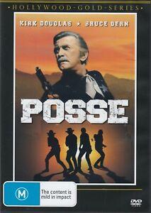 Posse - Kirk Douglas New and Sealed DVD