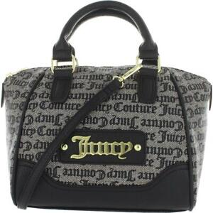 Juicy Couture Womens Gothic Status Beige Satchel Handbag Purse Small BHFO 9126